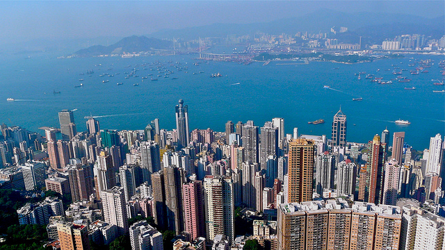 Hong Kong property sales slide
